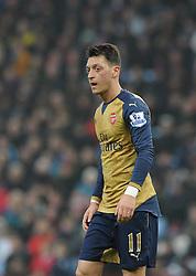 Mesut Ozil of Arsenal - Mandatory byline: Dougie Allward/JMP - 13/12/2015 - Football - Villa Park - Birmingham, England - Aston Villa v Arsenal - Barclays Premier League