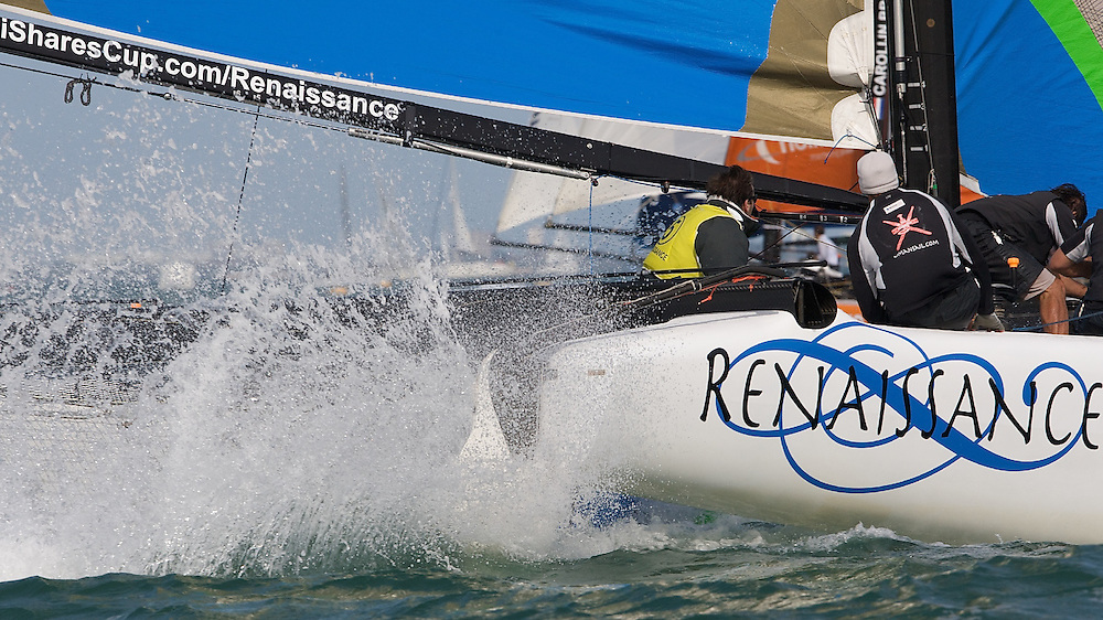 ENGLAND, Cowes, iShares Cup, 2nd August, Renaissance.
