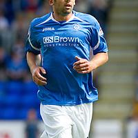 St Johnstone FC..season 2011-12<br /> Callum Davidson<br /> Picture by Graeme Hart.<br /> Copyright Perthshire Picture Agency<br /> Tel: 01738 623350  Mobile: 07990 594431