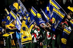 Worcester Warriors flag bearers - Mandatory by-line: Robbie Stephenson/JMP - 06/03/2020 - RUGBY - Sixways Stadium - Worcester, England - Worcester Warriors v Northampton Saints - Gallagher Premiership Rugby