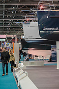The London Boat Show opens at the Excel centre. London 06 Jan 2017
