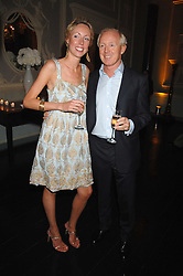 SIMON & REBECCA BREWER at the Tatler magazine Summer Party, Home House, Portman Square, London W1 on 27th June 2007.<br /><br />NON EXCLUSIVE - WORLD RIGHTS