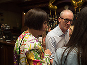ALICE RAWTHORN; MICHAEL LANDY, The Approach 20th Anniversary party. The Approach, Bethnal Green. London. 3 July 2017