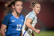 Lucy Bronze (England) during the International Friendly match between England Women and France Women at the Keepmoat Stadium, Doncaster, England on 21 October 2016. Photo by Mark P Doherty.