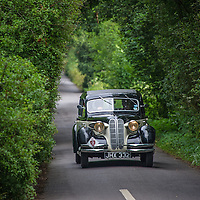 Richard Wills and Julian Cranwell  in their BMW 326  Frazer Nash   on the Royal Automobile Club 1000 Mile Trial 2015