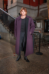 September 13, 2018 - New York, New York, United States - Jordan Barrett attends Marc Jacobs show at New York Fashion Week,  in New York City, US, on 12 September 2018. (Credit Image: © Oleg Chebotarev/NurPhoto/ZUMA Press)