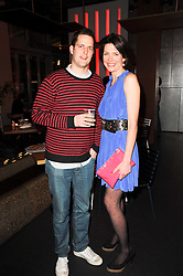 THOMASINA MIERS and chef & TV preseneter VALENTINE WARNER at a party to celebrate the publication of Mexican Food Made Simple by Thomasina Miers held at Wahaca, Westfield Shopping Centre, London on 2nd February 2010.