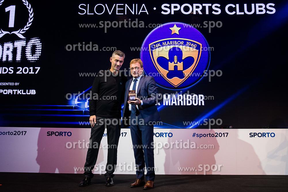 Bojan Ban during Sports marketing and sponsorship conference Sporto 2017, on November 16, 2017 in Hotel Slovenija, Congress centre, Portoroz / Portorose, Slovenia. Photo by Vid Ponikvar / Sportida