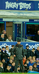 LIVERPOOL, ENGLAND - Sunday, March 3, 2019: Liverpool's manager Jürgen Klopp reacts during the FA Premier League match between Everton FC and Liverpool FC, the 233rd Merseyside Derby, at Goodison Park. (Pic by Paul Greenwood/Propaganda)