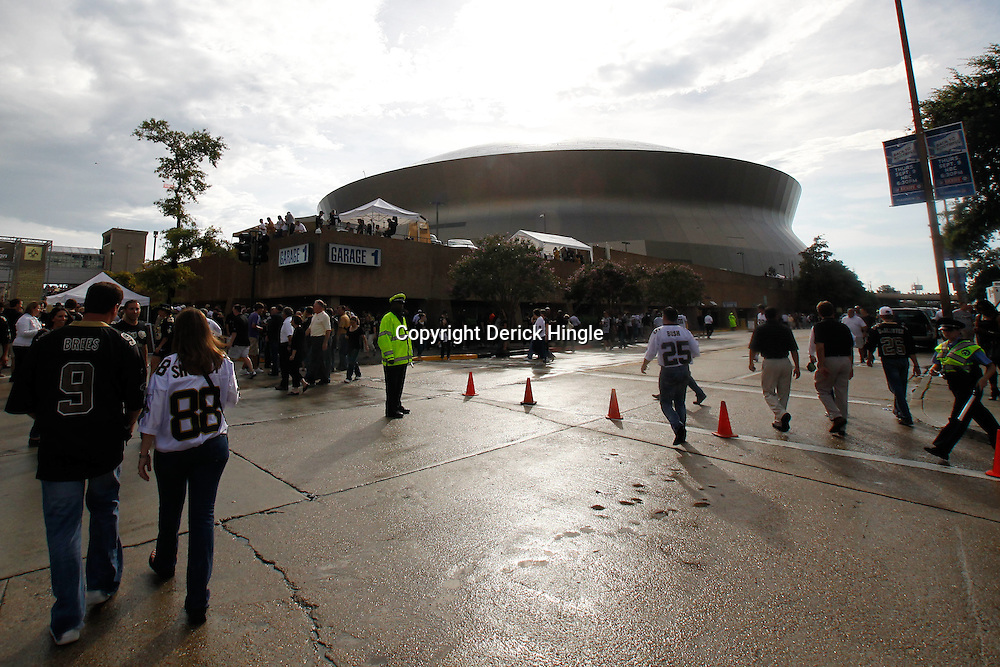 September 9, 2010; New Orleans, LA, USA;  A general view of the Louisiana Superdome prior to the NFL Kickoff season opener between the Minnesota Vikings and the New Orleans Saints at the Louisiana Superdome. Mandatory Credit: Derick E. Hingle