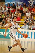 Giochi del Mediterraneo Almeria 2005<br /> azioni di gioco<br /> nella foto: jacopo giachetti