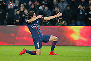 Edinson Roberto Paulo Cavani Gomez (psg) (El Matador) (El Botija) (Florestan) scored the second goal of the game, celebration during the French Championship Ligue 1 football match between Paris Saint-Germain and ESTAC Troyes on November 29, 2017 at Parc des Princes stadium in Paris, France - Photo Stephane Allaman / ProSportsImages / DPPI