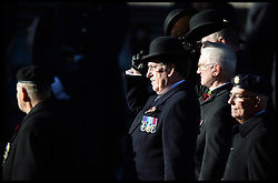 Veterans pass the Cenotaph on Whitehall in the annual Remembrance Sunday Service at the Cenotaph, Whitehall, London, England. Sunday, 10th November 2013. Picture by Andrew Parsons / i-Images
