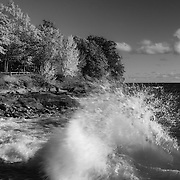 &quot;Crashing Waves in Autumn&quot; mono<br />
