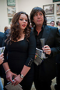 CECILLE LLEWELLEN-BOWEN; CECILLE LLEWELLEN-BOWEN, Royal Academy of Arts Summer Exhibition Preview Party 2011. Royal Academy. Piccadilly. London. 2 June <br /> <br />  , -DO NOT ARCHIVE-© Copyright Photograph by Dafydd Jones. 248 Clapham Rd. London SW9 0PZ. Tel 0207 820 0771. www.dafjones.com.