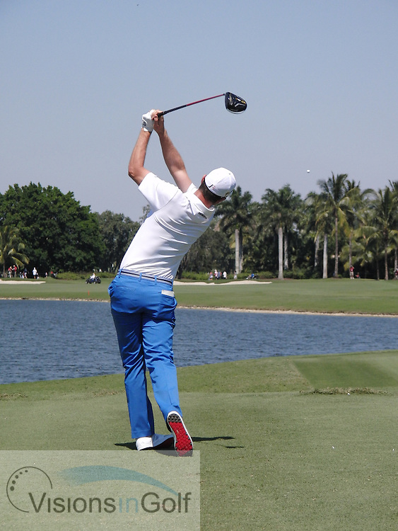 Justin Rose<br /> High Speed Swing Sequence<br /> March 2016