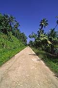 Road, Tahaa, French Polynesia<br />