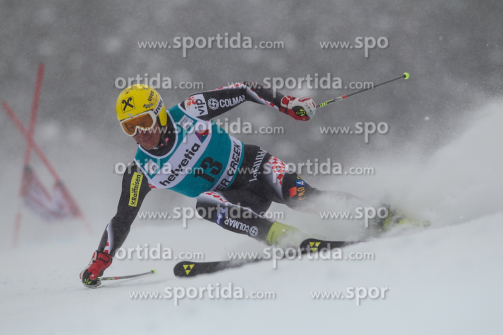 08.12.2013, Birds of Prey, Beaver Creek, USA, FIS Ski Weltcup, Beaver Creek, Riesentorlauf, Herren, 1. Durchgang, im Bild Ivica Kostelic (CRO) // Ivica Kostelic of Croatia in action during the the 1st run of mens Giant Slalom of the Beaver Creek FIS Ski Alpine World Cup at the Birds of Prey Raptor in Beaver Creek, United States on 2012/12/08. EXPA Pictures © 2013, PhotoCredit: EXPA/ Johann Groder
