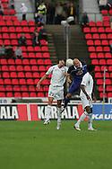 23.07.2005, Ratina, Tampere, Finland..UEFA Intertoto Cup, 3rd round, 2nd leg match.Tampere United v S.S. Lazio.Emilson Cribari (Lazio) v Ville Lehtinen (TamU).©Juha Tamminen.....ARK:k