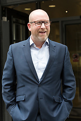 © Licensed to London News Pictures. 30/05/2016. LONDON, UK.  PAUL NUTTALL, UKIP leader leaving BBC Broadcasting House in London today.  Photo credit: Vickie Flores/LNP