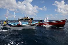 Mauritius Greenpeace Flotilla