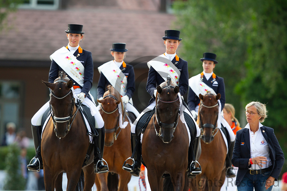 Team The Netherlands Young Riders<br /> FEI European Championships Juniors and Young Riders 2012<br /> © DigiShots