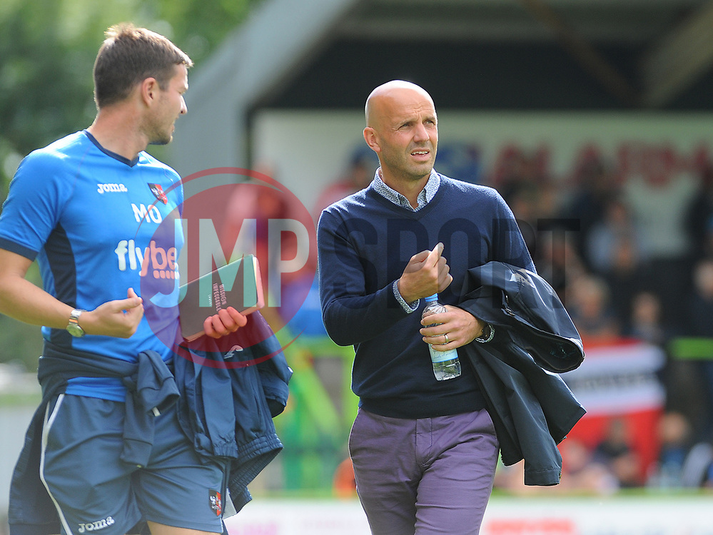 Exeter City manager Paul Tisdale - Mandatory by-line: Nizaam Jones/JMP - 09/09/2017 - FOOTBALL - New Lawn Stadium - Nailsworth, England - Forest Green Rovers v Exeter City - Sky Bet League Two