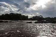 French Guyana. Amazonas forest and river. Approuague river in amazonia,      / le fleuve Approuague en amazonie  guyane.