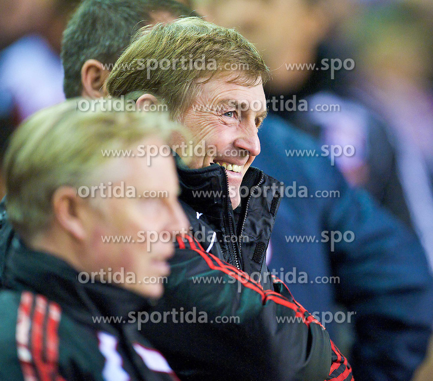 02.02.2011, Anfield Road, Liverpool, ENG, PL, Liverpool FC vs Stoke City, im Bild Liverpool's manager Kenny Dalglish MBE //  during the Premiership match against Liverpool at Anfield, EXPA Pictures © 2011, PhotoCredit: EXPA/ Propaganda/ D. Rawcliffe *** ATTENTION *** UK OUT!