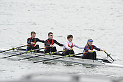 Eton. Great Britain,  J17 4X, Star Club. move through the start at the 2010 OARSport Junior Sculling Head. [Scullery], Eton Rowing Centre, Dorney Lake, Berkshire, England,  12  - 12/03/2010  -  [Mandatory Credit. Peter Spurrier/Intersport Images]
