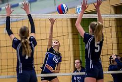 31-03-2018 NED: Finale C Volleybaldirect Open, Wognum<br /> 16 teams van meisjes en jongens C streden om het Nederlands Kampioenschap / Harderwijk