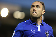 Lee Croft of Oldham Athletic during the EFL Sky Bet League 1 match between Oldham Athletic and Northampton Town at Boundary Park, Oldham, England on 16 August 2016. Photo by Simon Brady.