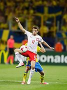 LUBLIN, POLEN 2017-06-19<br /> Przemysław Frankowski under UEFA U21 matchen mellan Polen och Sverige den 19 juni p&aring; Arena Lublin, Polen.<br /> Foto: Nils Petter Nilsson/Ombrello<br /> Fri anv&auml;ndning f&ouml;r kunder som k&ouml;pt U21-paketet.<br /> Annars Betalbild.<br /> ***BETALBILD***