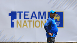 July 25, 2017 - Galle, Sri Lanka - Indian head coach Ravi Shastri looks on during a practice session ahead of the 1st test match between Sri Lanka and India at Galle International  cricket stadium, Galle, Sri Lanka on 25 Tuesday 2017. (Credit Image: © Tharaka Basnayaka/NurPhoto via ZUMA Press)
