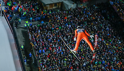 29.12.2015, Schattenbergschanze, Oberstdorf, GER, FIS Weltcup Ski Sprung, Vierschanzentournee, Bewerb, im Bild Nicholas Alexander (USA) // Nicholas Alexander of the USA during his Competition Jump of Four Hills Tournament of FIS Ski Jumping World Cup at the Schattenbergschanze, Oberstdorf, Germany on 2015/12/29. EXPA Pictures © 2016, PhotoCredit: EXPA/ Peter Rinderer
