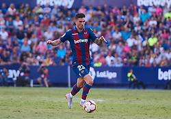 September 30, 2018 - Valencia, U.S. - VALENCIA, SPAIN - SEPTEMBER 30: Jason, midfielder of Levante UD with the ball during the La Liga match between Levante UD and Deportivo Alaves at Estadio Ciutat de Valencia on September 30, 2018, in Valencia, Spain. (Photo by Carlos Sanchez Martinez/Icon Sportswire) (Credit Image: © Carlos Sanchez Martinez/Icon SMI via ZUMA Press)