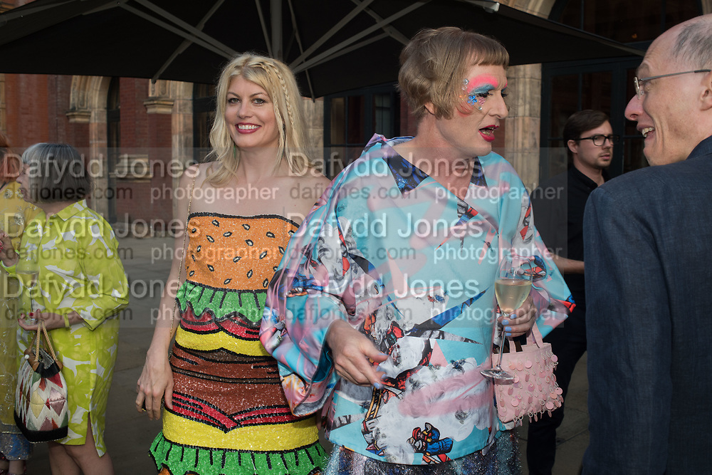 MEREDITH OSTROM; GRAYSON PERRY; ALAIN DE BOTTON, Tim Hunt memorial service. St. james church, London. 18June 2018