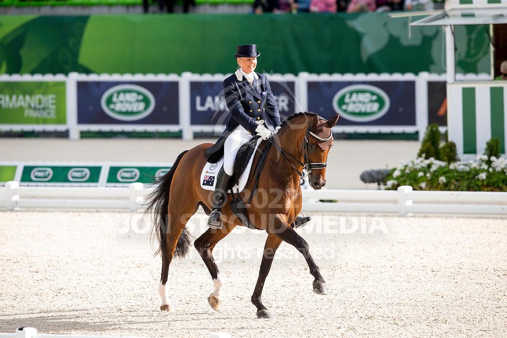 Mary Hanna, (AUS), Sancette - Grand Prix Special Dressage - Alltech FEI World Equestrian Games&trade; 2014 - Normandy, France.<br /> &copy; Hippo Foto Team - Leanjo de Koster<br /> 25/06/14