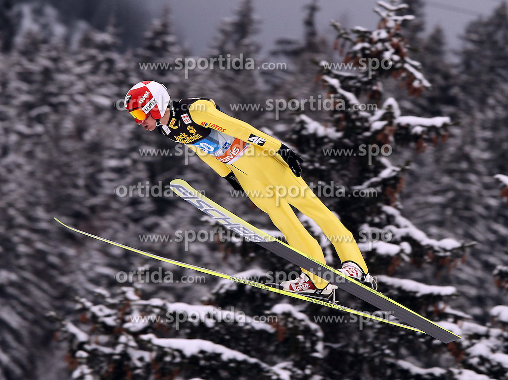30.12.2011, Schattenbergschanze/ Erdinger Arena, GER, Vierschanzentournee, FIS Weldcup, Ski Springen, im Bild KAMIL STOCH // during 60th Four-Hills-Tournament of FIS World Cup Ski Jumping in Oberstdorf, Germany on 2011/12/30. EXPA Pictures © 2011, PhotoCredit: EXPA/ Newspix/ Jerzy Kleszcz..***** ATTENTION - for AUT, SLO, CRO, SRB, SUI and SWE only *****