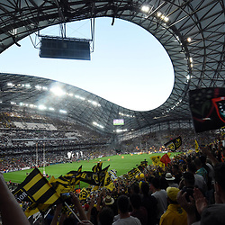 General View of Stade Velodrome of Marseille during the Top 14 semi final match between La Rochelle and Rc Toulon at Orange Velodrome on May 26, 2017 in Marseille, France. (Photo by Alexandre Dimou/Icon Sport)