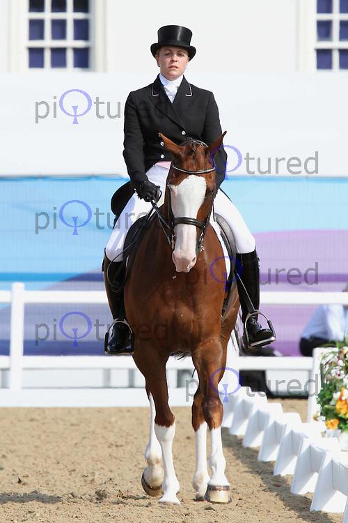 Julian Stiller; Gunstone Wallstreet; London 2012 Olympics Sport Testing Program Greenwich Park Equestrian Dressage Eventing , London, UK, 04 July 2011:  Contact: Rich@Piqtured.com +44(0)7941 079620 (Picture by PiQtured)