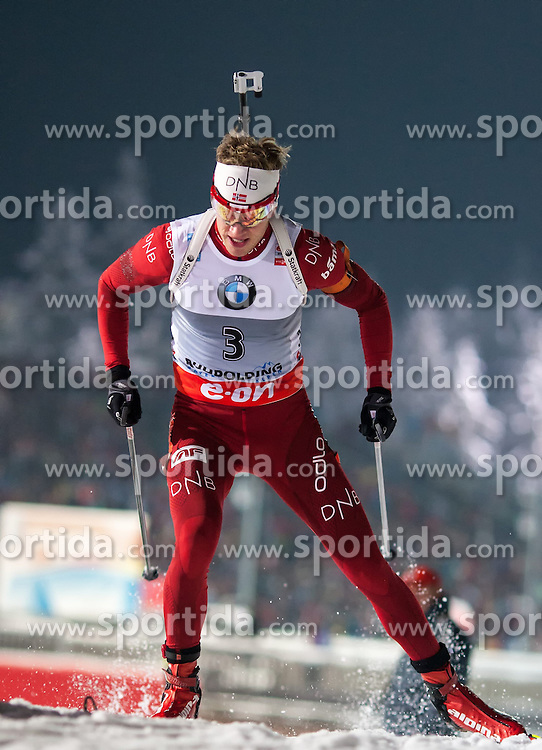 12.01.2013, Chiemgau Arena, Ruhpolding, GER, E.ON IBU Weltcup, Sprint, Herren, im Bild Tarjei Boe (NOR) // Tarjei Boe of Norway during Mens sprint of E.ON IBU Biathlon World Cup at the Chiemgau Arena in Ruhpolding, Germany on 2013/01/12. EXPA Pictures © 2013, PhotoCredit: EXPA/ Sven Kiesewetter
