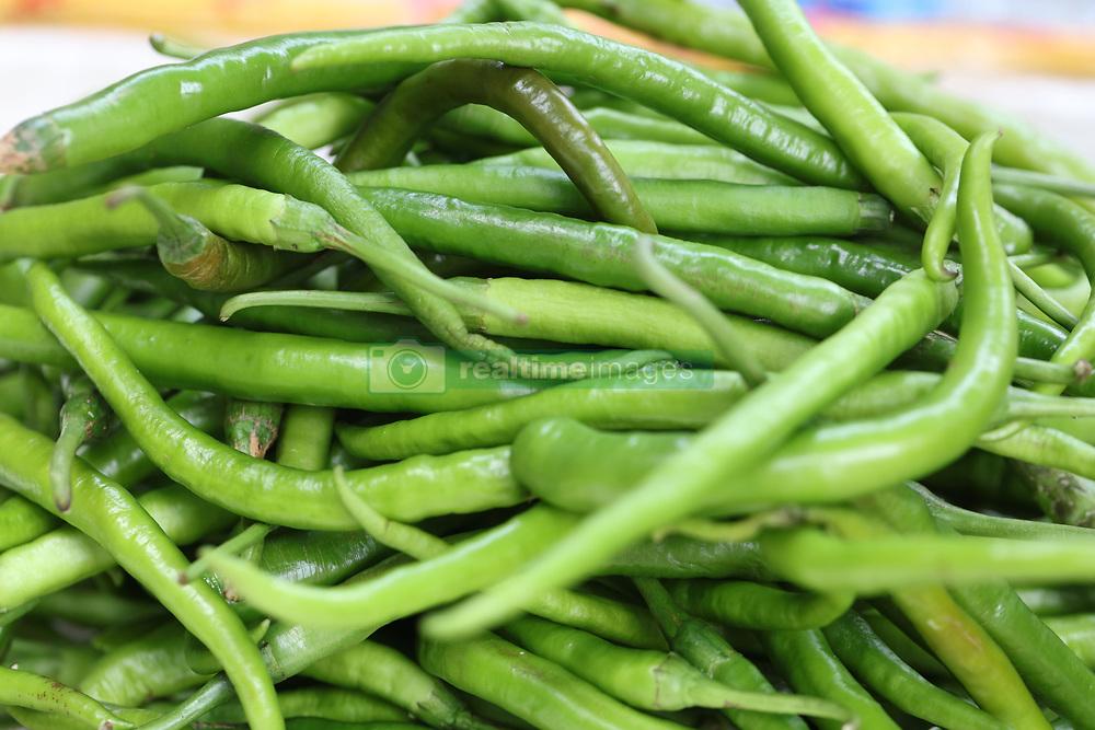 June 13, 2017 - Fuzhou, Fuzhou, China - Vegetables can be seen at a market in Fuzhou, southeast China's Fujian Province. (Credit Image: © SIPA Asia via ZUMA Wire)