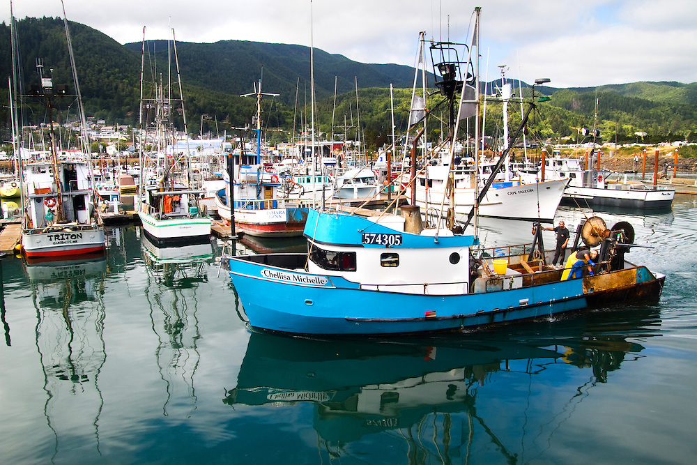 A classic, road trip from Portland to Tillamook, with a detour to the fishing village of Garibaldi, through Cape Lookout State Park and on to our final destination of Pacific City. Garibaldi fisherman return from working off the Oregon Coast.