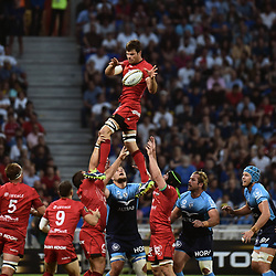 Julien Puricelli of Lyon during the Top 14 semi final match between Montpellier Herault Rugby and Lyon on May 25, 2018 in Lyon, France. (Photo by Alexandre Dimou/Icon Sport)