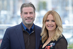 John Travolta and Kelly Preston attending the Rendez-vous with John Travolta - Gotti Photocall held at the Palais des Festivals as part of the 71th annual Cannes Film Festival on May 15, 2018 in Cannes, France. Photo by Aurore Marechal/ABACAPRESS.COM