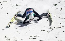 06.01.2015, Paul Ausserleitner Schanze, Bischofshofen, AUT, FIS Ski Sprung Weltcup, 63. Vierschanzentournee, Finale, im Bild Sturz von Simon Ammann (SUI) // Simon Ammann of Switzerland crashed during Final Jump of 63rd Four Hills <br /> Tournament of FIS Ski Jumping World Cup at the Paul Ausserleitner Schanze, Bischofshofen, Austria on 2015/01/06. EXPA Pictures © 2015, PhotoCredit: EXPA/ JFK