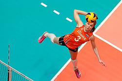 20180531 NED: Volleyball Nations League Netherlands - Brazil, Apeldoorn<br />Yvon Belien (3) of The Netherlands <br />©2018-FotoHoogendoorn.nl