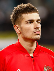 November 15, 2018 - Leipzig, Germany - Roman Neustadter of Russia looks on during the international friendly match between Germany and Russia on November 15, 2018 at Red Bull Arena in Leipzig, Germany. (Credit Image: © Mike Kireev/NurPhoto via ZUMA Press)