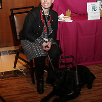 Tiffany Eickhoff with her Support Dog Dasher